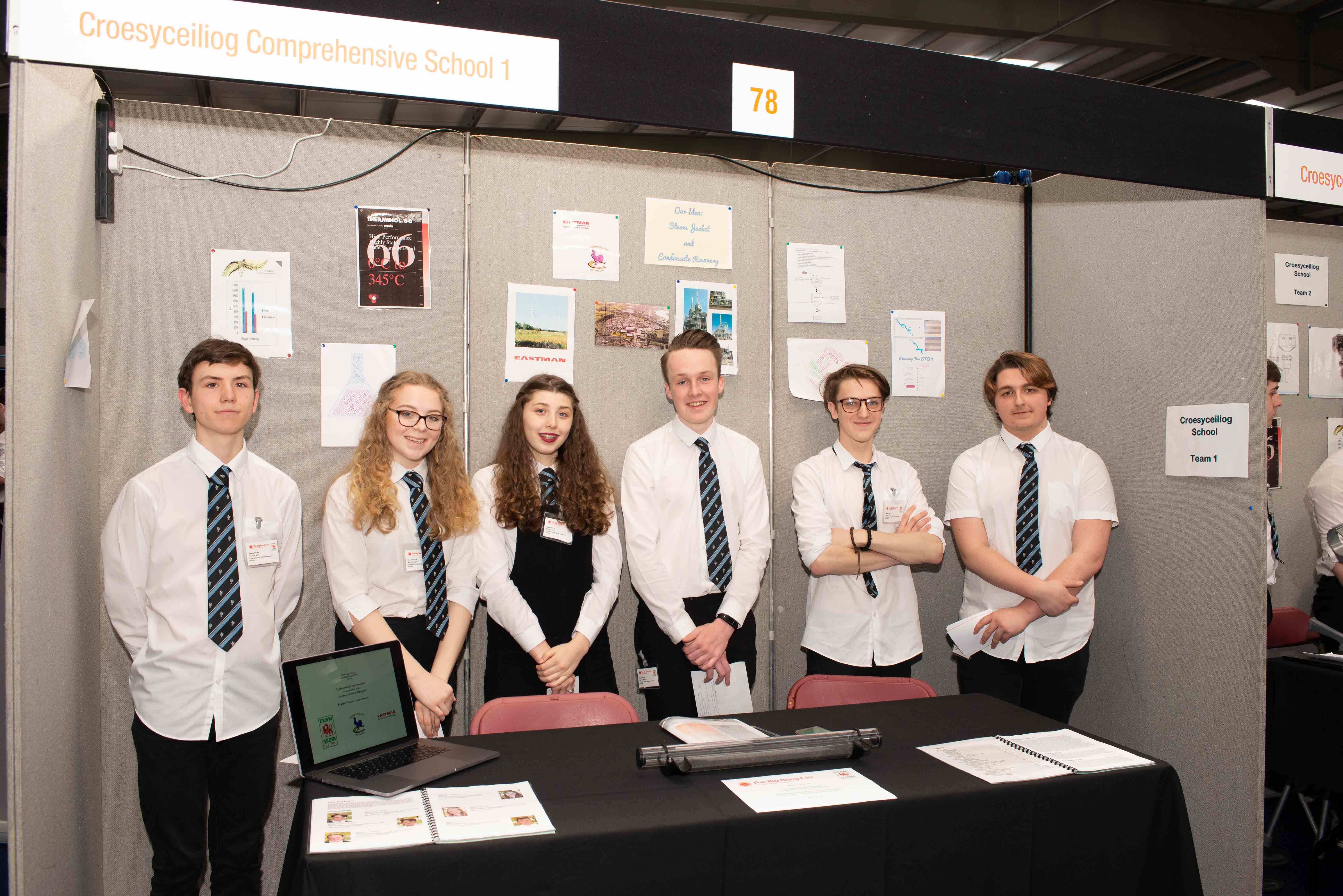Teams presenting at last year's awards event