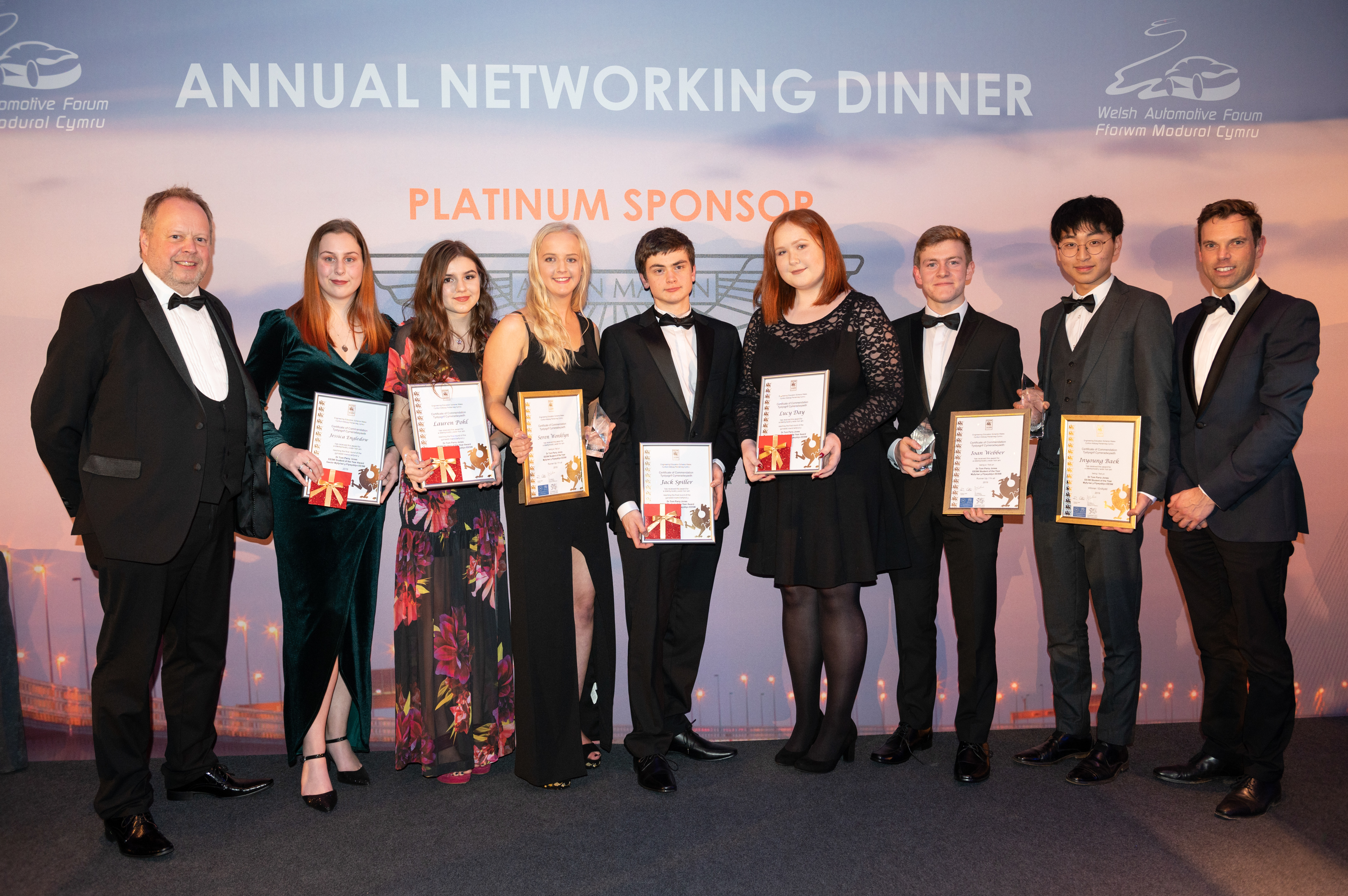 EESW Student of the Year Winners 2019